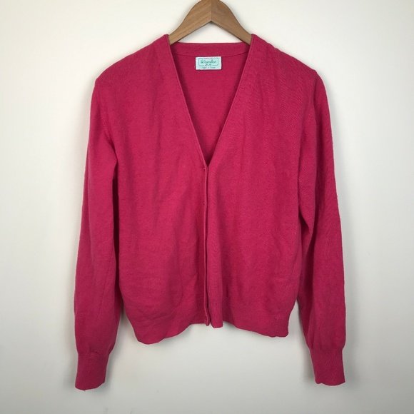 United Colors of Benetton Pink Wool Cardigan